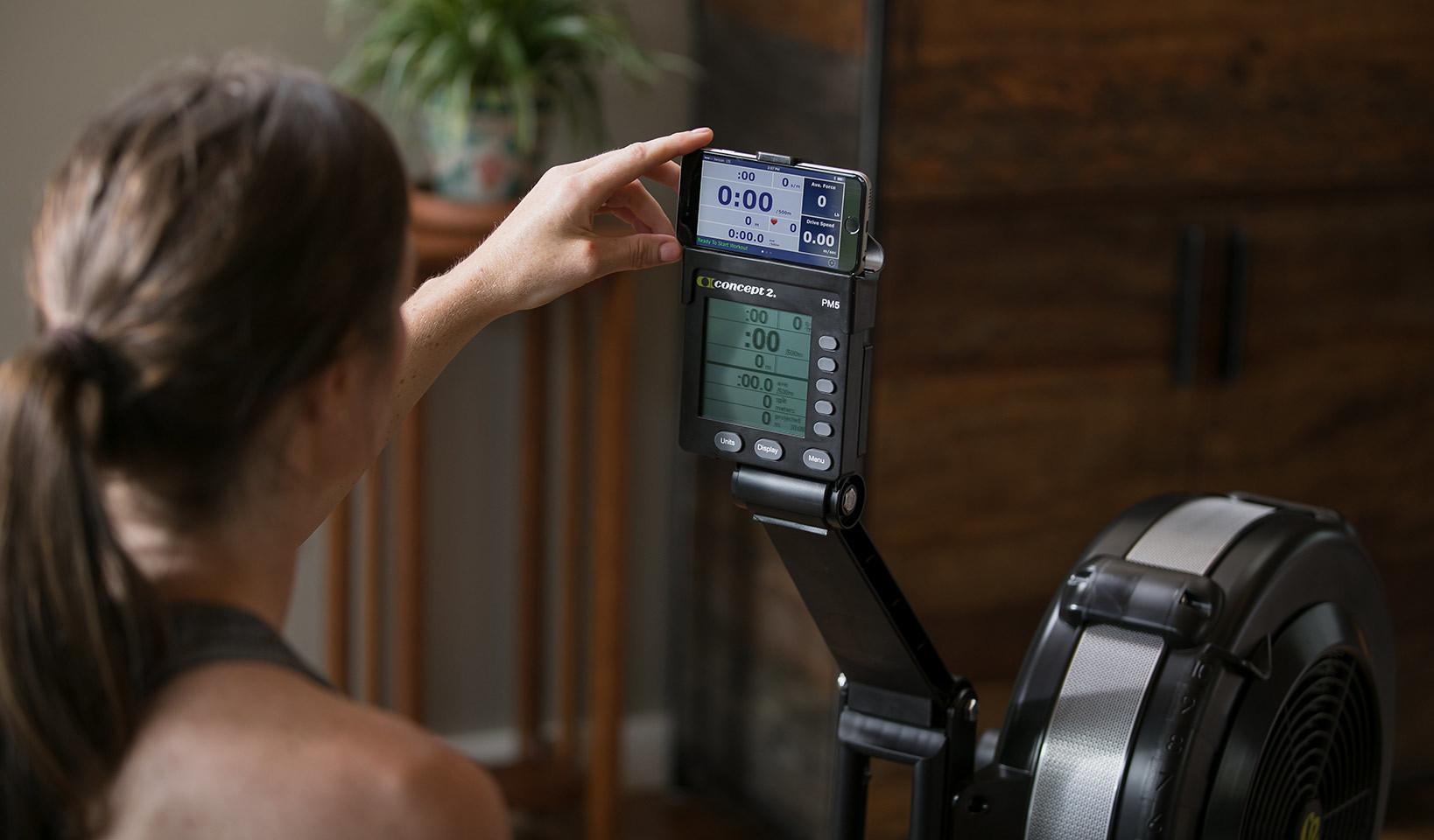 PM5 Monitor & Phone Cradle