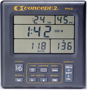 Indoor Rower Performance Monitor 2 - PM2 Support | Concept2