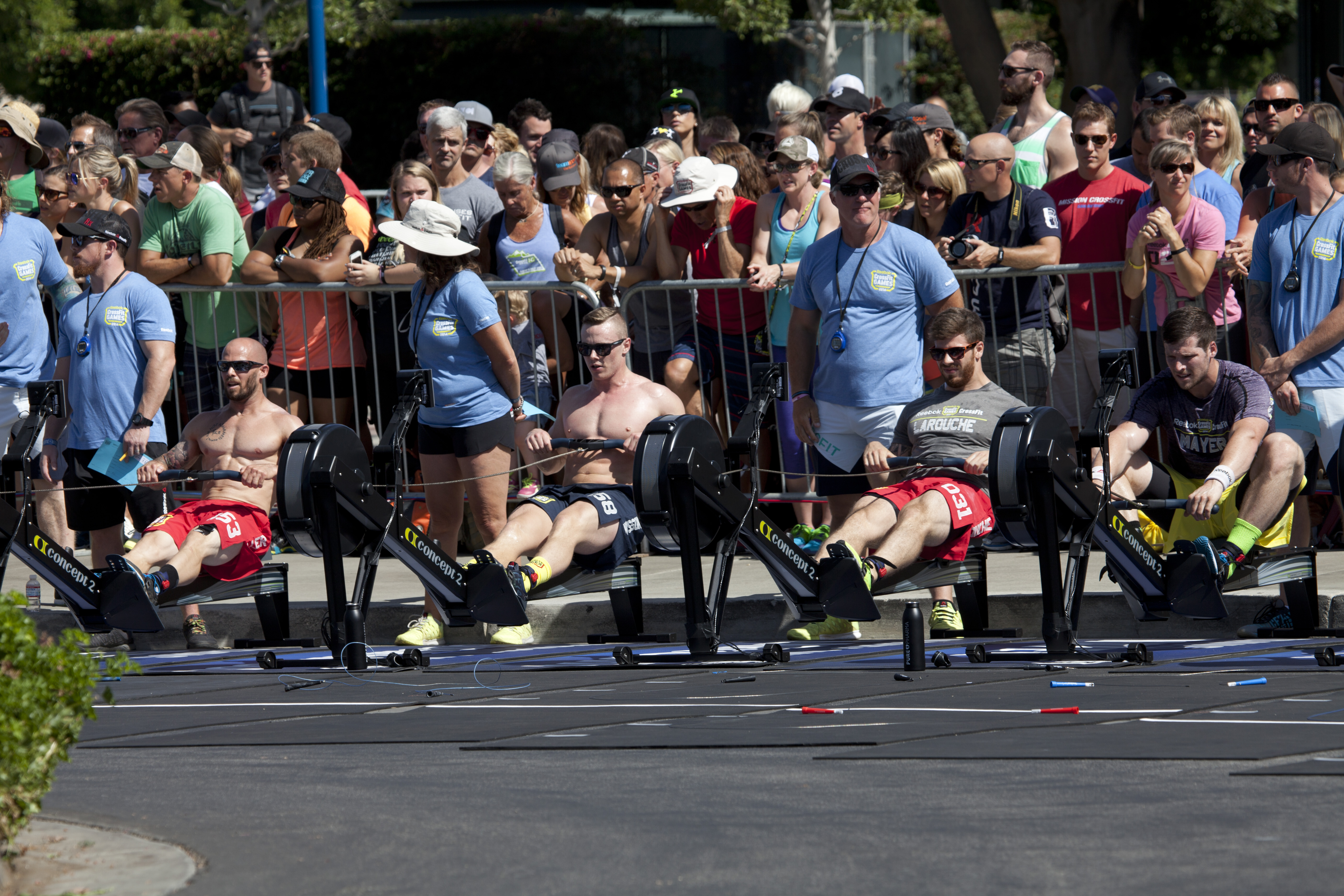 Crossfit Games 2014 Is In The Books Concept2