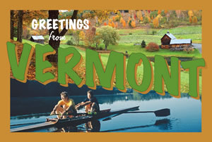 You may receive this postcard from Vermont to remind you to sign up for the new e-mail Update.