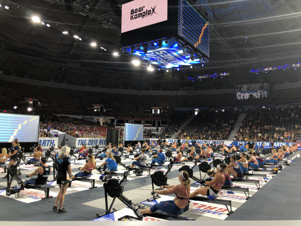 A view of the CrossFit Games Marathon